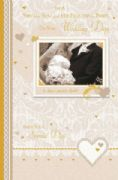 Son & Bride Wedding Day Greeting Card